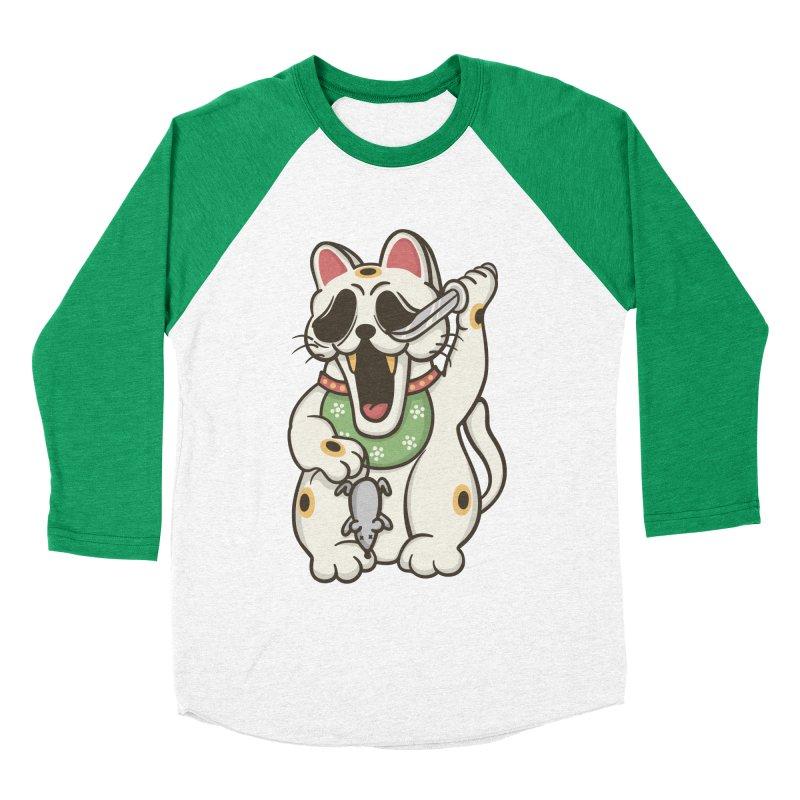 Bad Luck Women's Baseball Triblend Longsleeve T-Shirt by roborat's Artist Shop