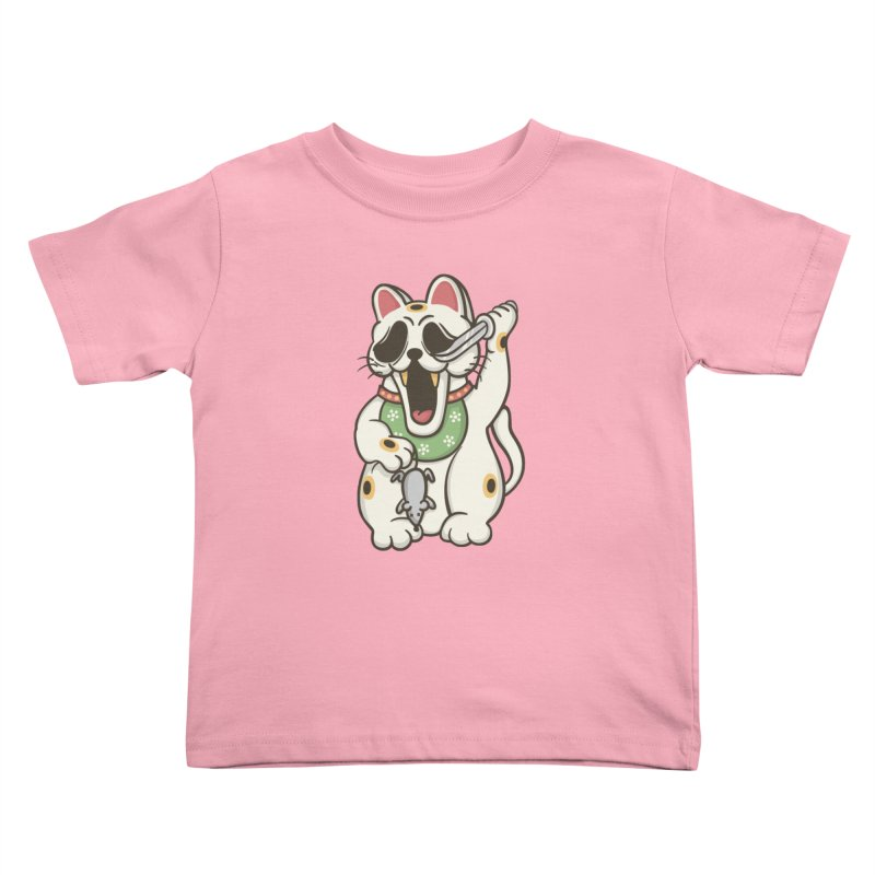 Bad Luck Kids Toddler T-Shirt by roborat's Artist Shop