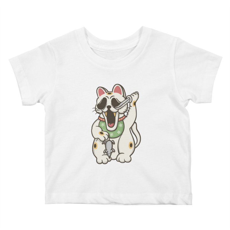 Bad Luck Kids Baby T-Shirt by roborat's Artist Shop