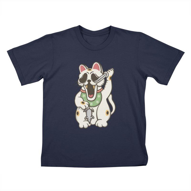 Bad Luck Kids T-shirt by roborat's Artist Shop