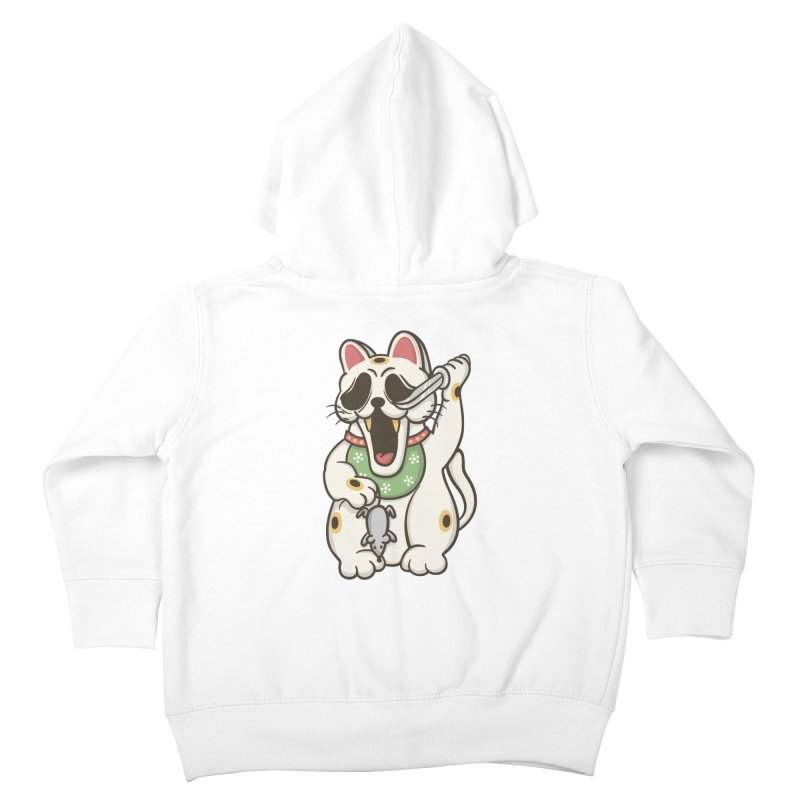 Bad Luck Kids Toddler Zip-Up Hoody by roborat's Artist Shop