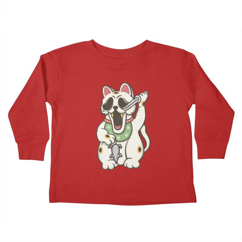 Bad Luck Kids Toddler Longsleeve T-Shirt by roborat's Artist Shop