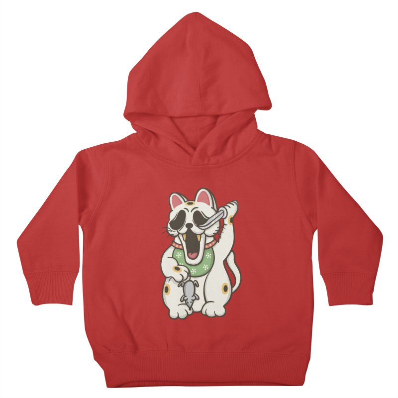 Bad Luck Kids Toddler Pullover Hoody by roborat's Artist Shop