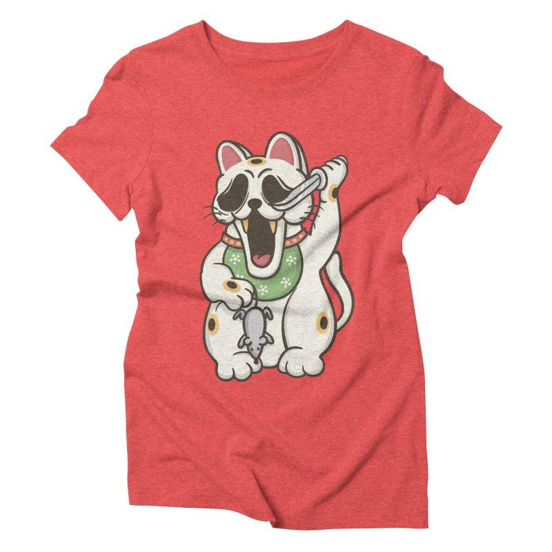 Bad Luck Women's Triblend T-Shirt by roborat's Artist Shop
