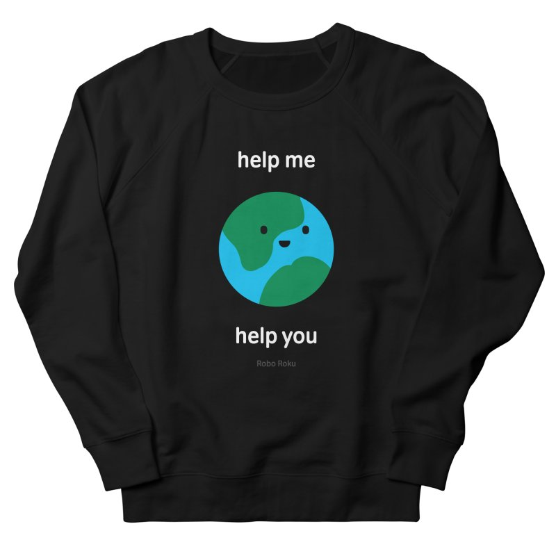 Earth Tee Men's Sweatshirt by Robo Roku