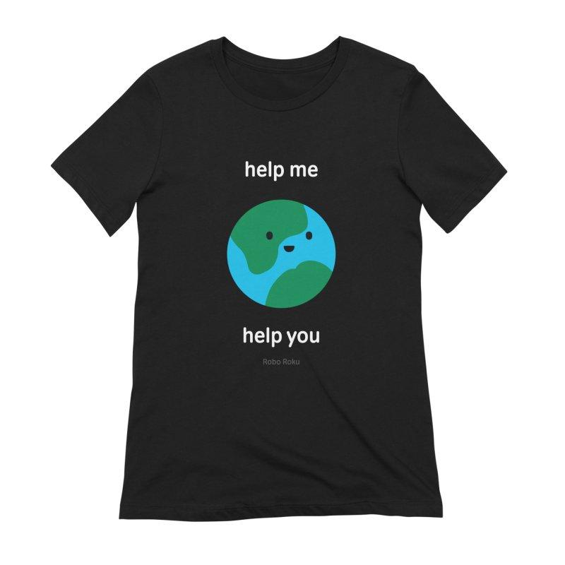 Earth Tee Women's T-Shirt by Robo Roku