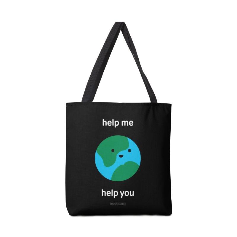 Earth Tee Accessories Bag by Robo Roku