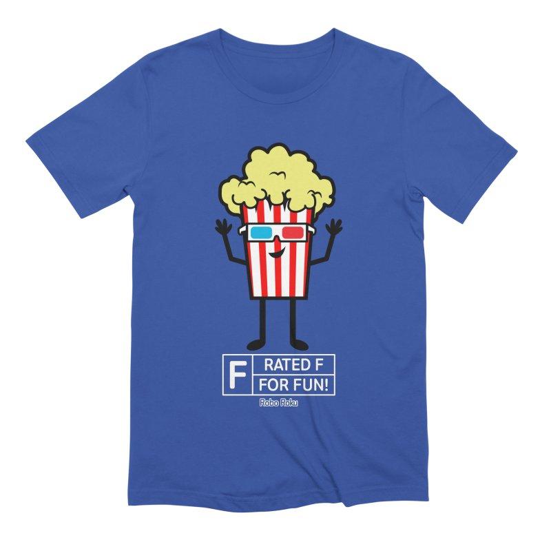 Pop - F is for Fun Men's Extra Soft T-Shirt by Robo Roku