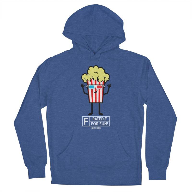 Pop - F is for Fun Men's Pullover Hoody by Robo Roku