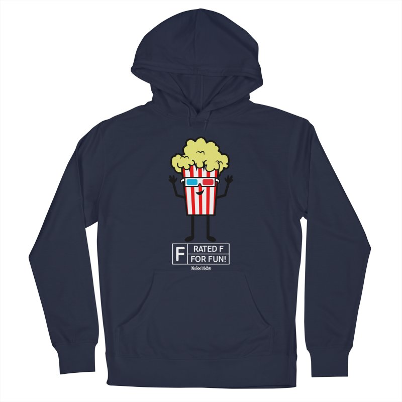 Pop - F is for Fun Men's Pullover Hoody by Robo Roku