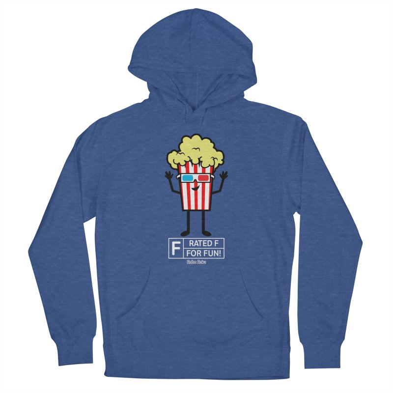 Pop - F is for Fun Women's Pullover Hoody by Robo Roku