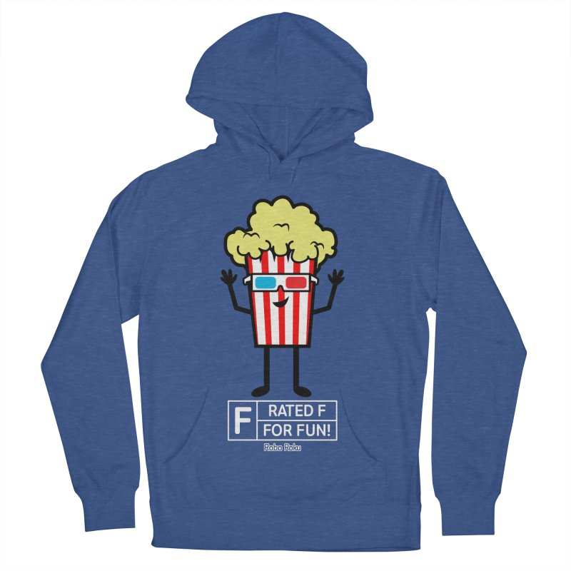 Pop - F is for Fun Women's French Terry Pullover Hoody by Robo Roku