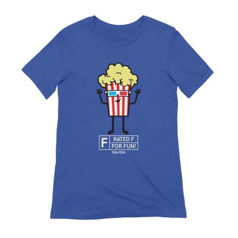 Pop - F is for Fun Women's T-Shirt by Robo Roku