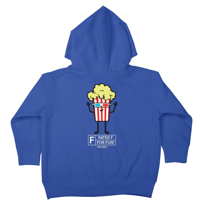 Pop - F is for Fun Kids Toddler Zip-Up Hoody by Robo Roku