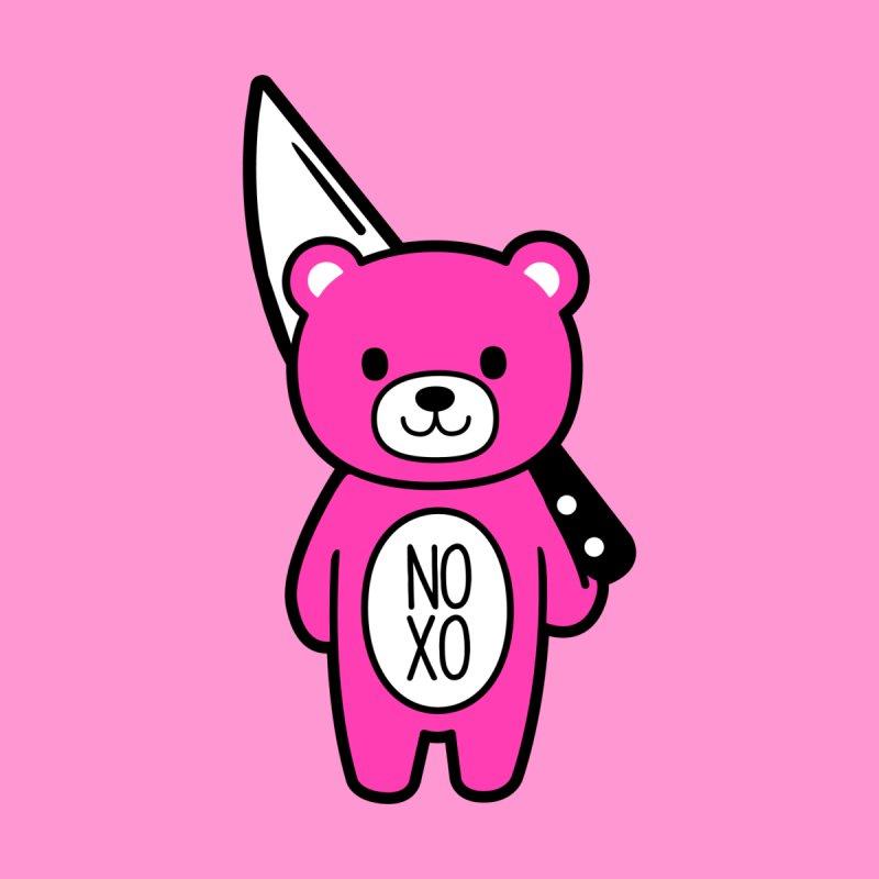 NO XO Mood Bear by Robo Roku