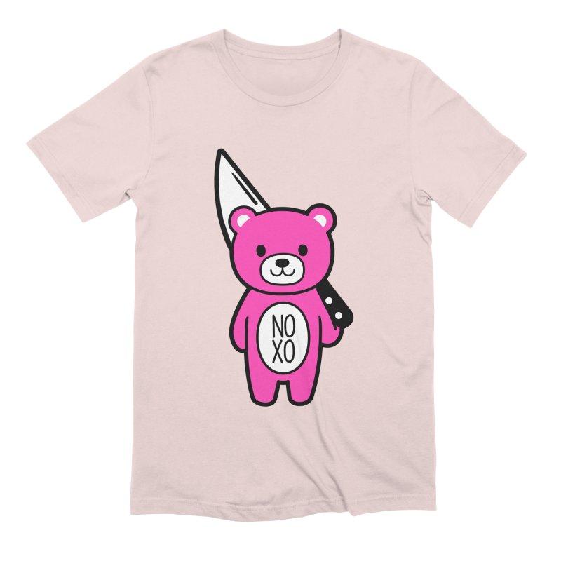 NO XO Mood Bear Men's T-Shirt by Robo Roku