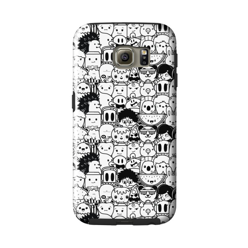 Whiteout Accessories Phone Case by Robo Roku