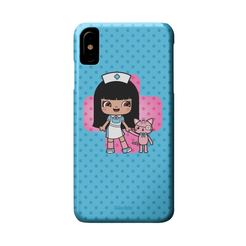 Oops & Ouch Accessories Phone Case by Robo Roku