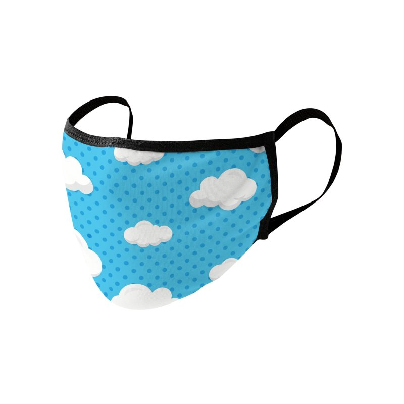 Cloud Daydream Accessories Face Mask by Robo Roku
