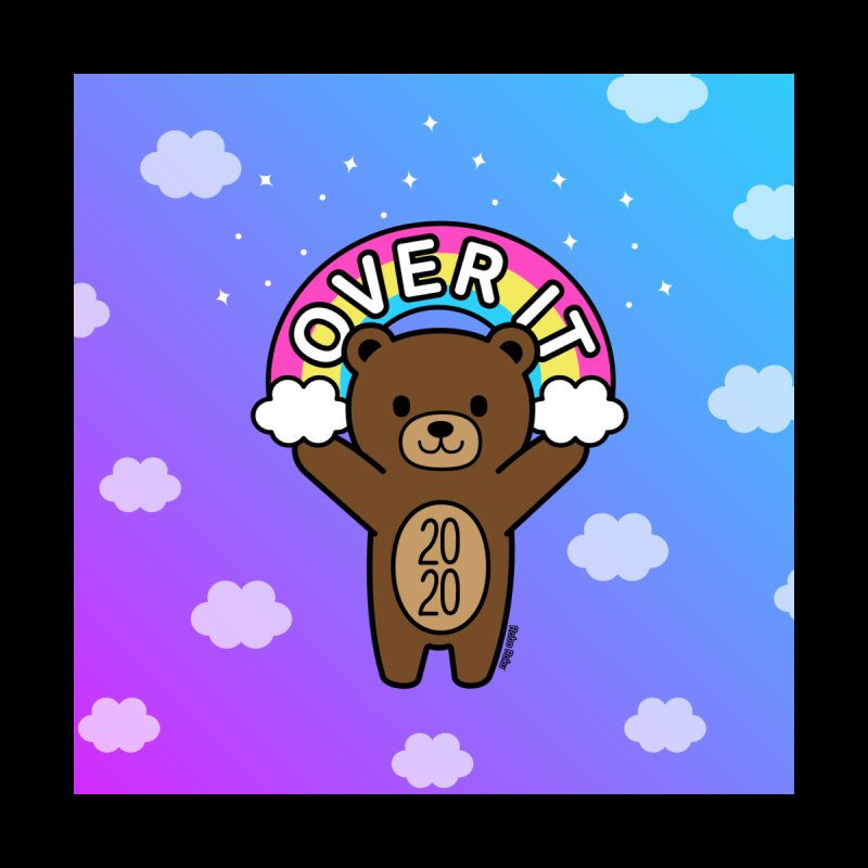 OVER IT 2020 Mood Bear Men's Sweatshirt by Robo Roku