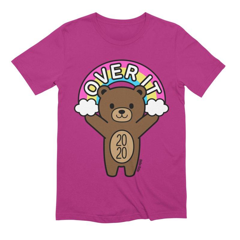 OVER IT 2020 Mood Bear Men's T-Shirt by Robo Roku