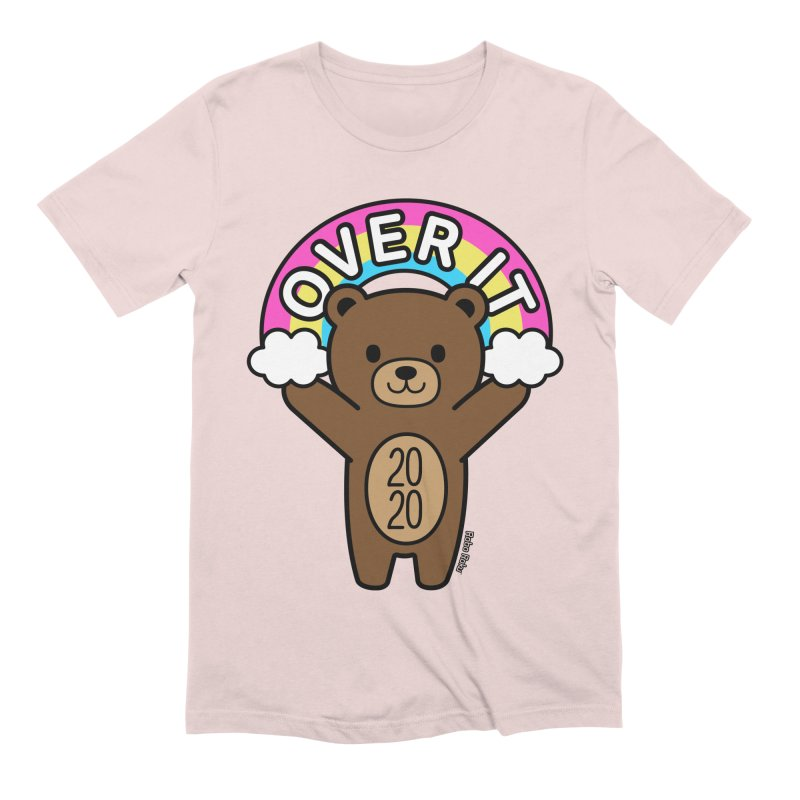 OVER IT 2020 Mood Bear Men's T-Shirt by Robo Roku
