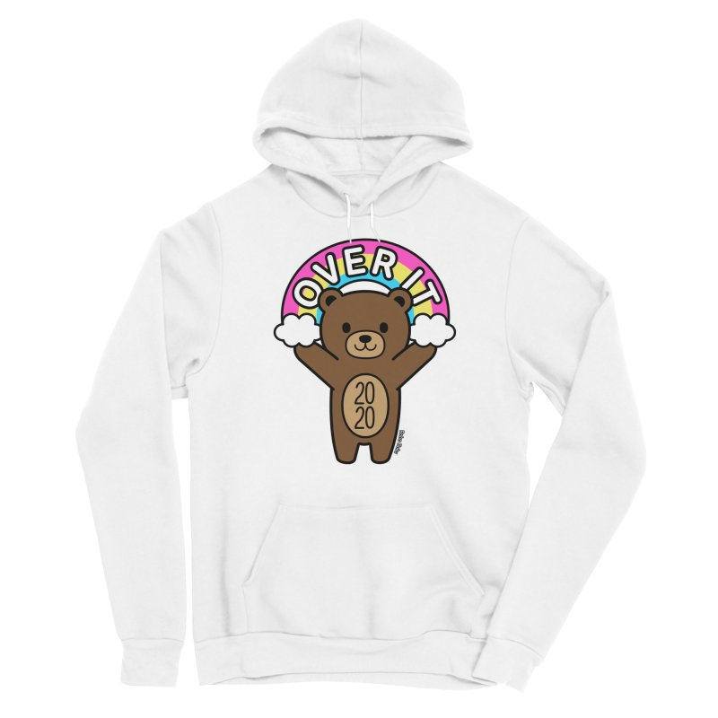 OVER IT 2020 Mood Bear Men's Pullover Hoody by Robo Roku
