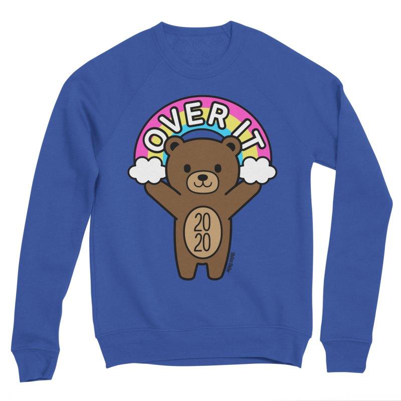OVER IT 2020 Mood Bear Men's Sweatshirt by Robo Roku