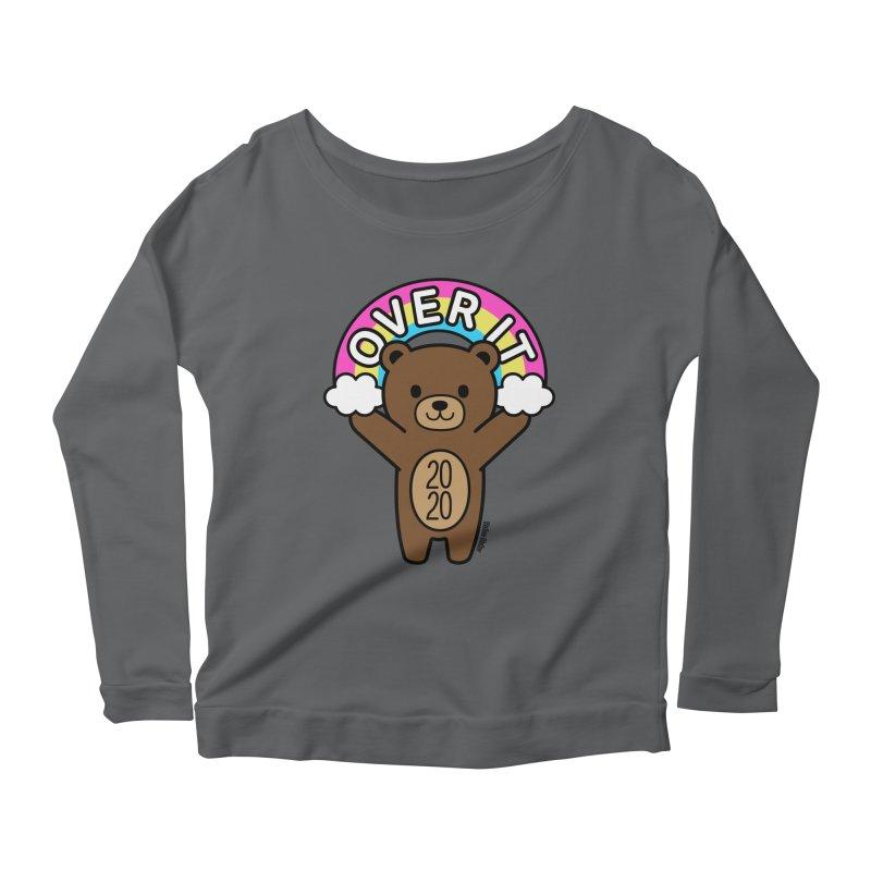 OVER IT 2020 Mood Bear Women's Longsleeve T-Shirt by Robo Roku