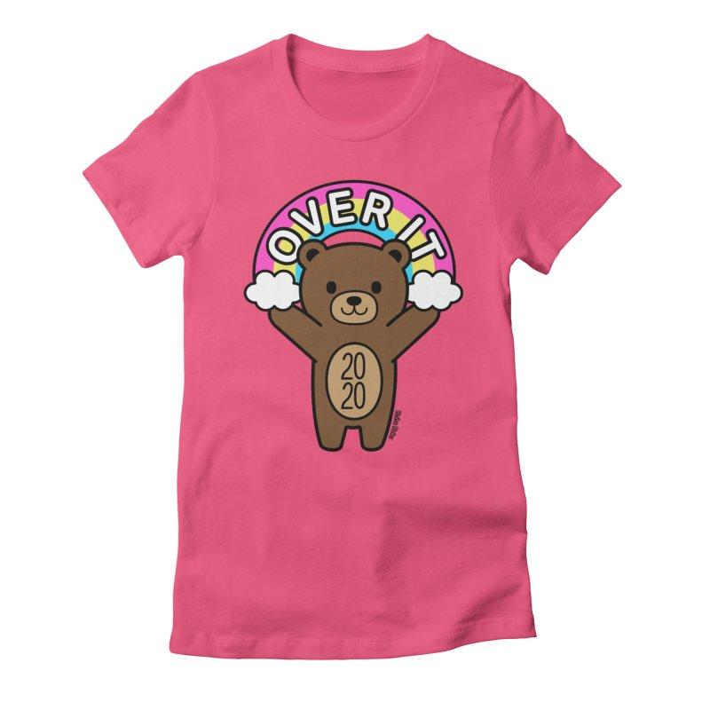 OVER IT 2020 Mood Bear Women's T-Shirt by Robo Roku
