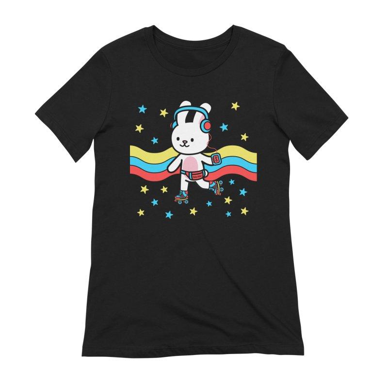 Retrocade LP Skate Women's T-Shirt by Robo Roku
