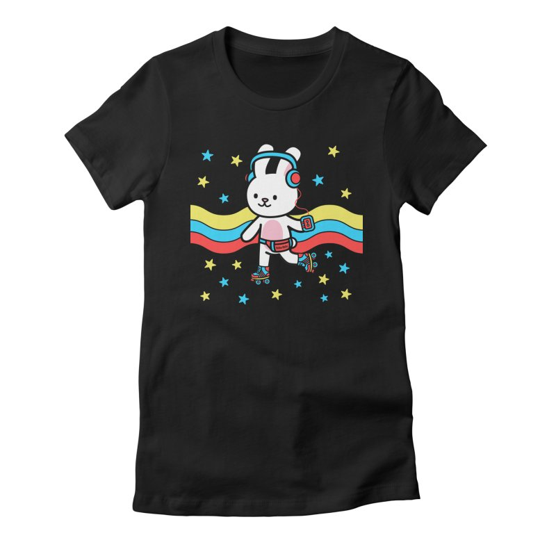 Retrocade LP Skate Women's T-Shirt by Robo Roku