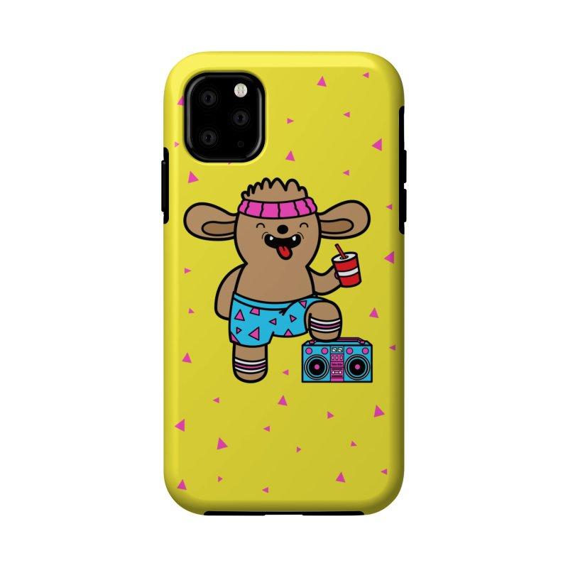 Retrocade Wow Wow Hangout Accessories Phone Case by Robo Roku