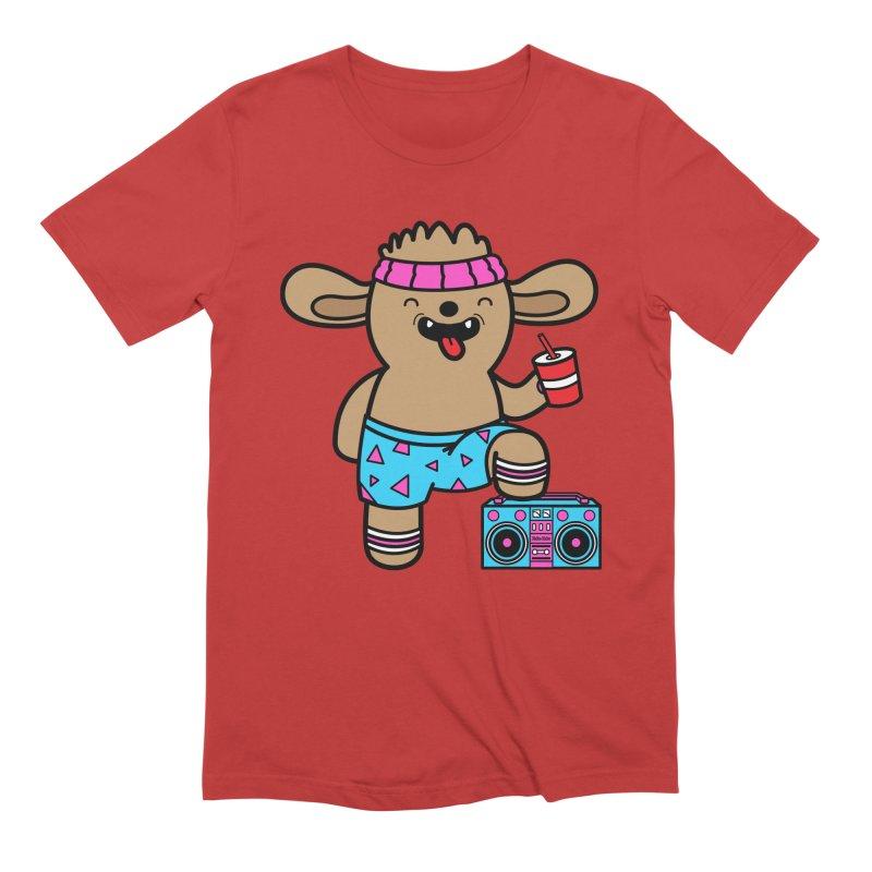 Retrocade Wow Wow Hangout Men's T-Shirt by Robo Roku