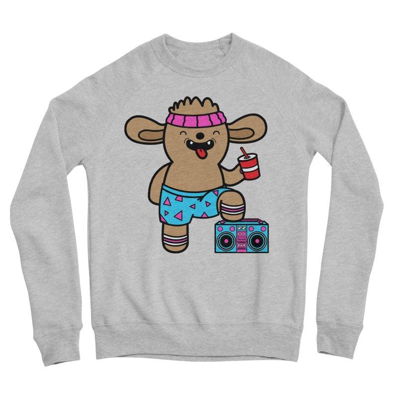 Retrocade Wow Wow Hangout Men's Sweatshirt by Robo Roku