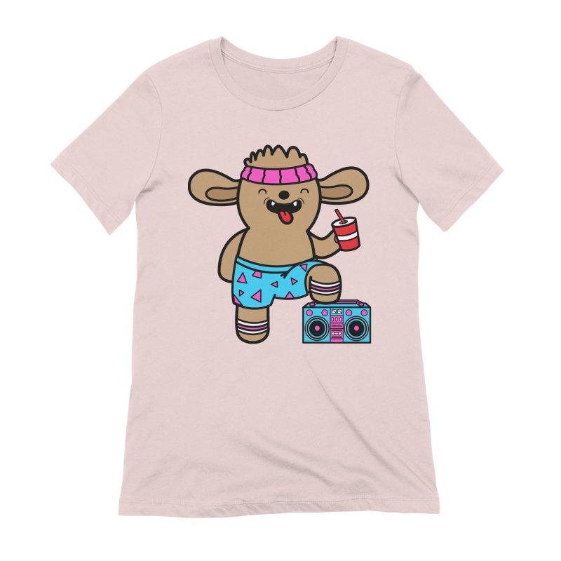 Retrocade Wow Wow Hangout Women's T-Shirt by Robo Roku