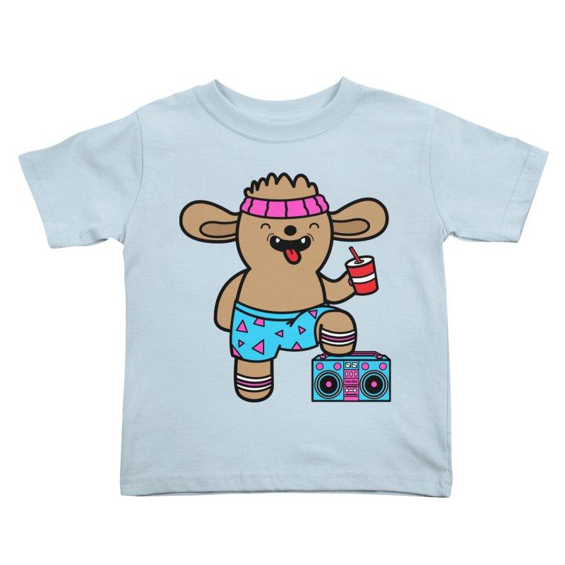 Retrocade Wow Wow Hangout Kids Toddler T-Shirt by Robo Roku