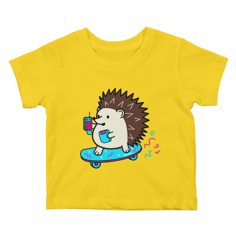 Duncan Retrocade Skate Kids Baby T-Shirt by Robo Roku