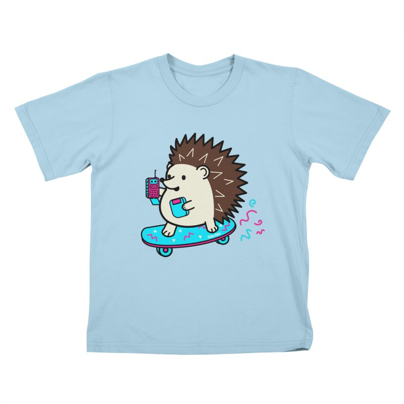 Duncan Retrocade Skate Kids T-Shirt by Robo Roku