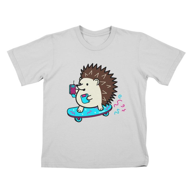 Duncan Retrocade Skate Kids T-Shirt by Robo Roku