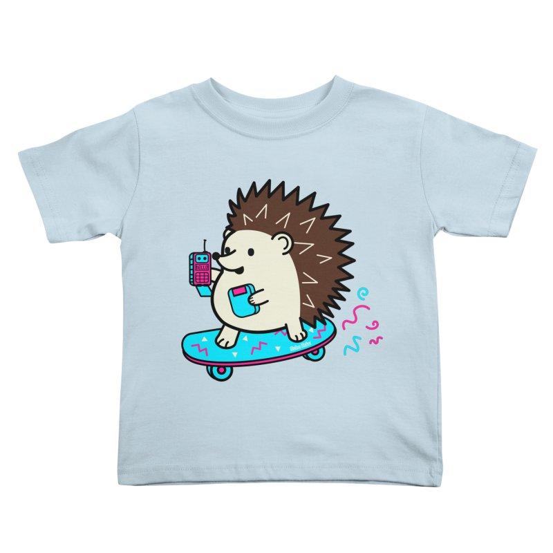 Duncan Retrocade Skate Kids Toddler T-Shirt by Robo Roku