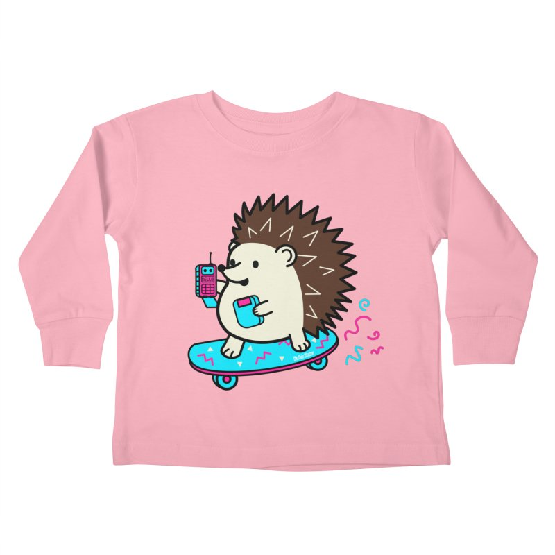 Duncan Retrocade Skate Kids Toddler Longsleeve T-Shirt by Robo Roku