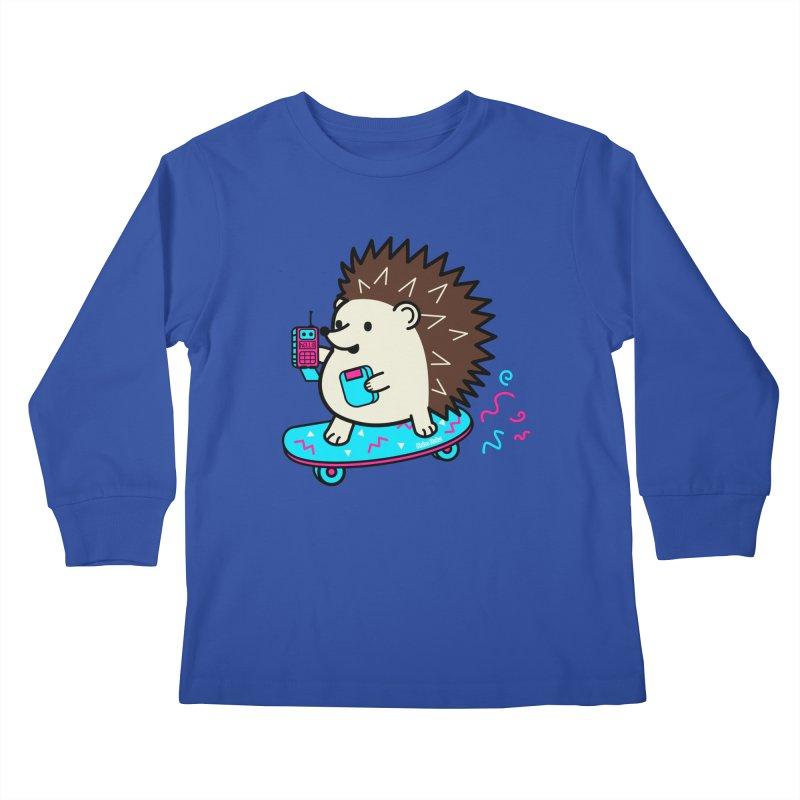 Duncan Retrocade Skate Kids Longsleeve T-Shirt by Robo Roku