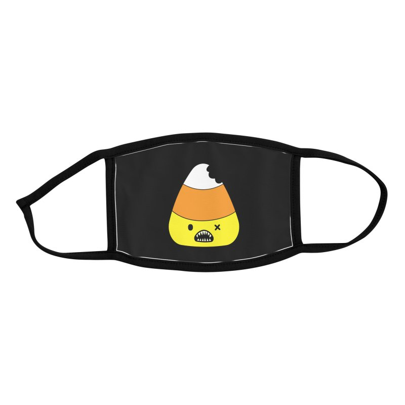 Zombie Candy Corn Accessories Face Mask by Robo Roku