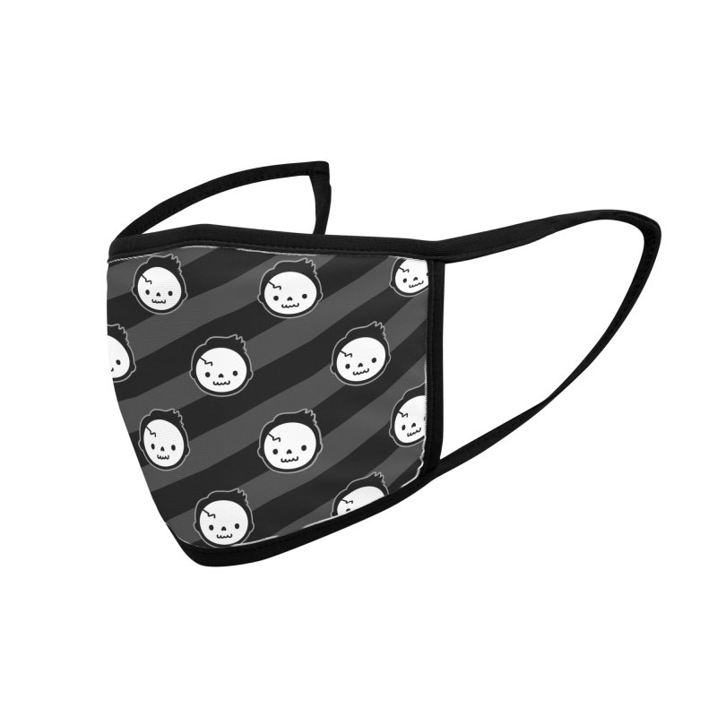 Skeleton Party Accessories Face Mask by Robo Roku