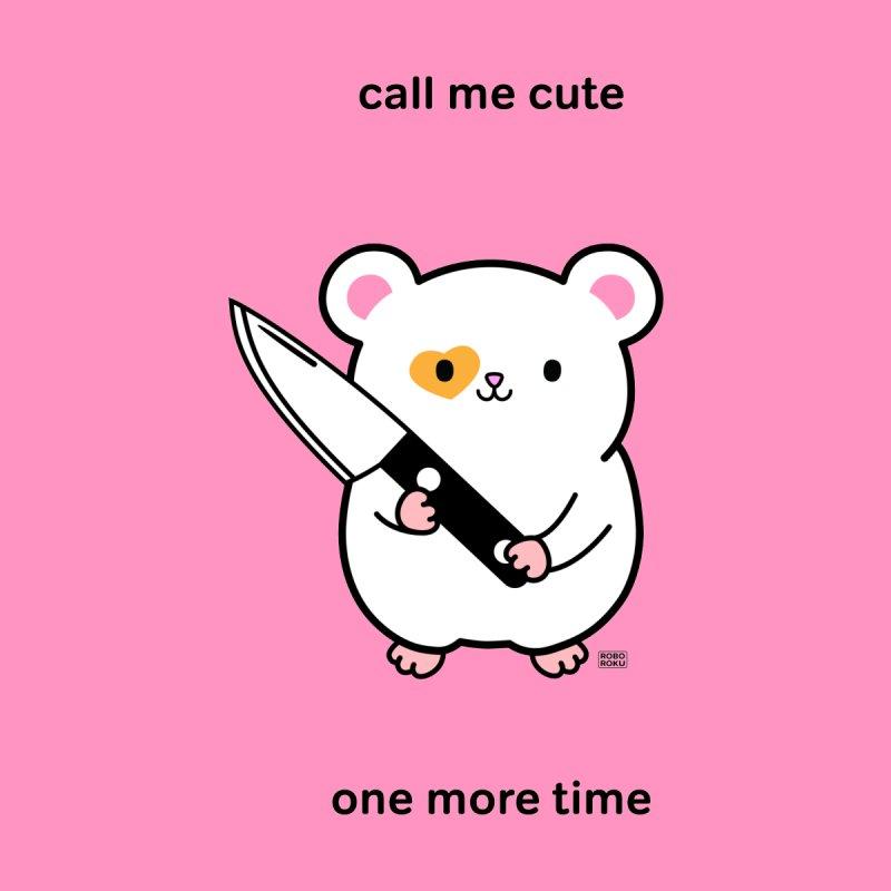 Call Me Cute Ham Ham Kids Baby Bodysuit by Robo Roku