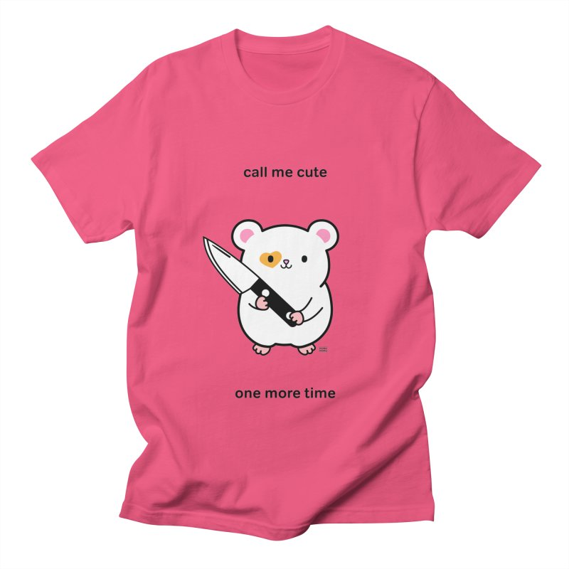 Call Me Cute Ham Ham Men's T-Shirt by Robo Roku