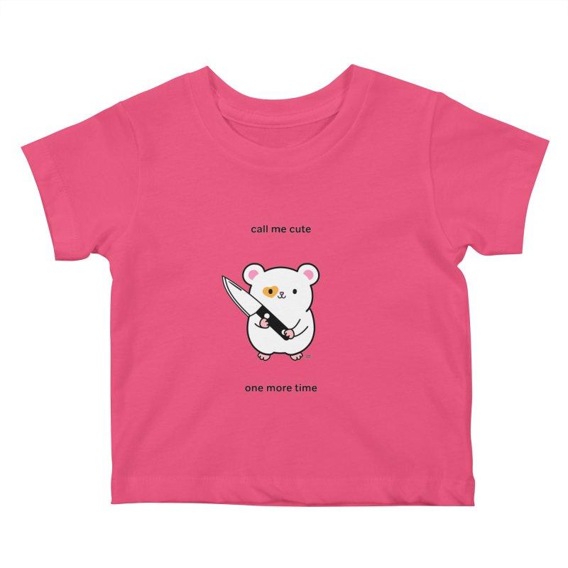 Call Me Cute Ham Ham Kids Baby T-Shirt by Robo Roku