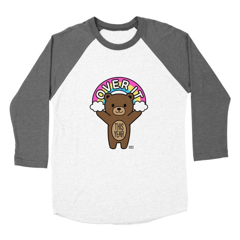 Over It! This Year Mood Bear Women's Longsleeve T-Shirt by Robo Roku