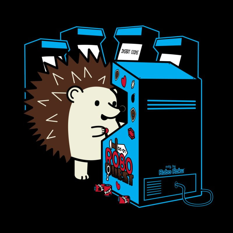 Duncan the Hedgehog Arcade Men's T-Shirt by Robo Roku